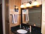 Hallway bath closets