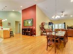 Culture Blend, Four Bedroom Vacation Rental, Sleeps 14