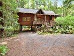Austin Creekside Retreat, Cazadero Home, Redwoods and Creek