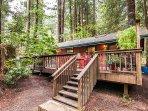 Hearthside Cabin, Vacation Rental on Austin Creek