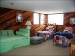 Twin Beds and a Daybed with Trundle in the Fourth Bedroom