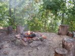 Outdoor Firepit/Charcoal Grill