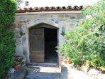 Hobbit House entrance