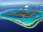 Bora Bora by plane