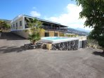 Pool side villa Amagante