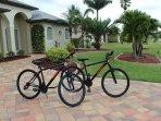Two new mountain bikes