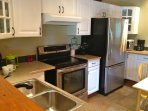 Fully Equipped Kitchen has Everything You Need to Cook Wonderful Meals Together