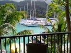 Veranda view on Eden Island deep water marina