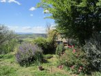 Beautiful wild gardens with views in every direction