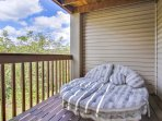 Relax on the lounger for some Star Gazing and watch for Eagles soaring around