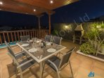 Villa Azure Evening Al Fresco Dining