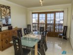 Villa Azure Indoor Dining Area