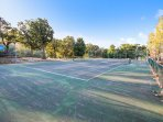 Tennis Courts - Bring your own equipment. Short walk from this unit