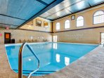 Indoor Saltwater Heated Pool - Open Year Round