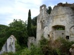 the ruins of Arcoudilas monastery