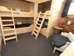 Ground floor double bunk room