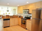 beautiful updated kitchen for all your comforts