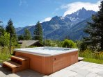 Marmotte Mountain Eco Lodge - hot tub