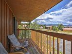 Leave the stress of everyday life with this sleek Grand Lake vacation rental!