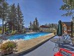 Swim in the community pool.