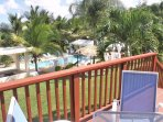 Villa Bonita #1 apt #5, deck to the pool