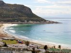 Fish hoek beach view from house