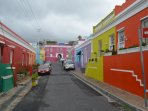 Colourful Cape Malay Bo Kaap  a Heritage site in the City