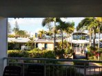 Ocean views from unit balcony