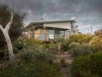 Coorong Cabins.  Nestled in an award winning native garden next to the Coorong National Park.