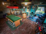 Coorong Cabins - Games Room.  Something for everyone.