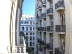 View of Calle San Vicente from the balconies