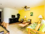 Bright and Cheerful Living Area
