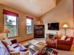 Bears Den B10 Living Area Frisco Lodging Vacation Rentals