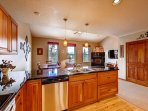 Bears Den B10 Kitchen Frisco Lodging Vacation Rentals