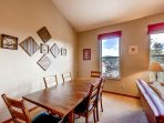 Bears Den B10 Dining Area Frisco Lodging Vacation Rentals