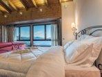 Bedroom. One bedroom villa