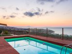You will fall in love with the views of sunset that Villa Princess offers!