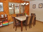 Formal Dining for 6, Stereo, Board Games