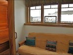 Private Sauna & Full Futon in Master Bedroom