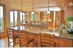 Huge Gourmet Kitchen with Granite, Hardwood, Stainless Steel, &walk-in pantry