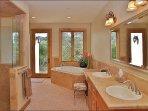 Master # 1 Bath - Walk In Shower, Jacuzzi Tub