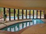 Indoor / Outdoor Pool is great Winter & Summer