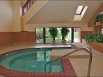 One of many Indoor and Outdoor Hot Tubs