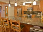Beautifully Updated Kitchen & Breakfast Bar.