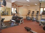 New Fitness Center  - Top of the Line Equipment