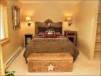 Master Bedroom # 1 - Queen, TV