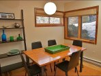 A nice space for dining or cards