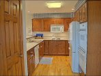 Hardwood Floors, Double Ovens, New Appliances & Cabinetry in Kitchen