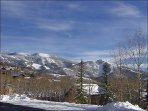 The home has an Amazing View of the Steamboat Ski Area!
