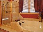 Master Bath - Jacuzzi Tub & Separate Shower